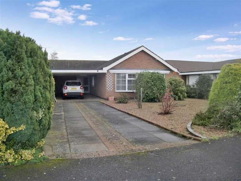 3 Bedrooms Bungalow for sale in The Lawns, Collingham, Nottinghamshire, NG23