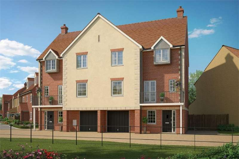 4 Bedrooms Semi Detached House for sale in The Knightsbridge, Marston Place, Brooklands Avenue, Wixams, Bedfordshire