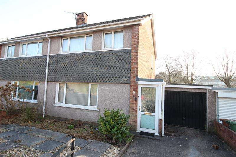 3 Bedrooms Semi Detached House for sale in Porset Drive, Caerphilly