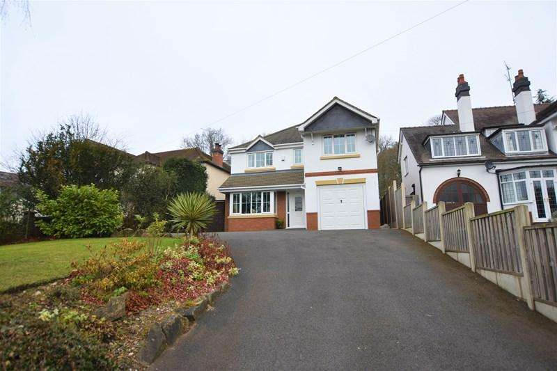 4 Bedrooms Detached House for sale in Wollaston Road, New Wood,, Stourbridge