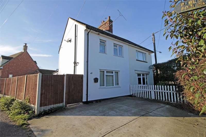 2 Bedrooms Semi Detached House for sale in Station Road, Tiptree, Essex