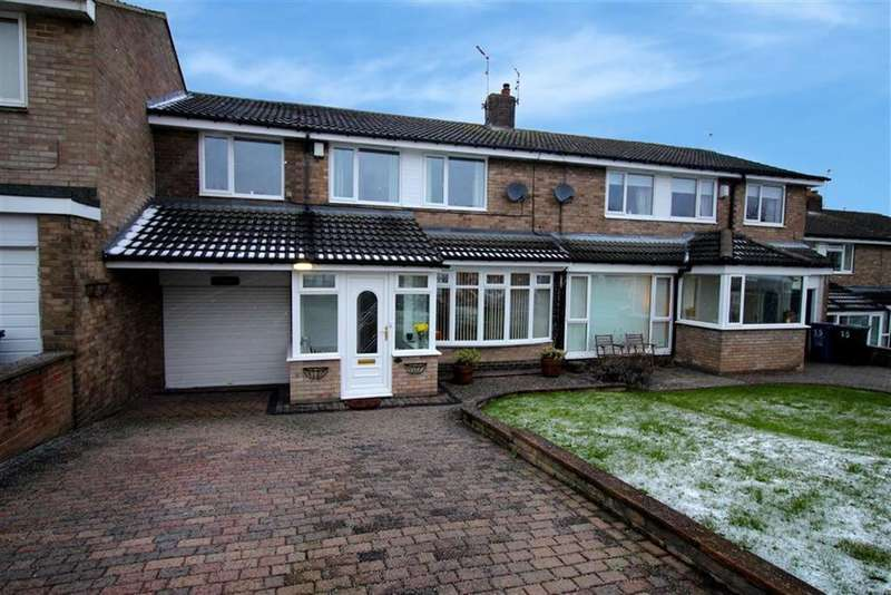 4 Bedrooms Terraced House for sale in St Buryan Crescent, Newcastle Upon Tyne, NE5