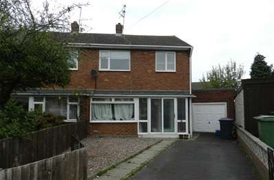 3 Bedrooms Semi Detached House for sale in Teagues Crescent, Trench, Telford