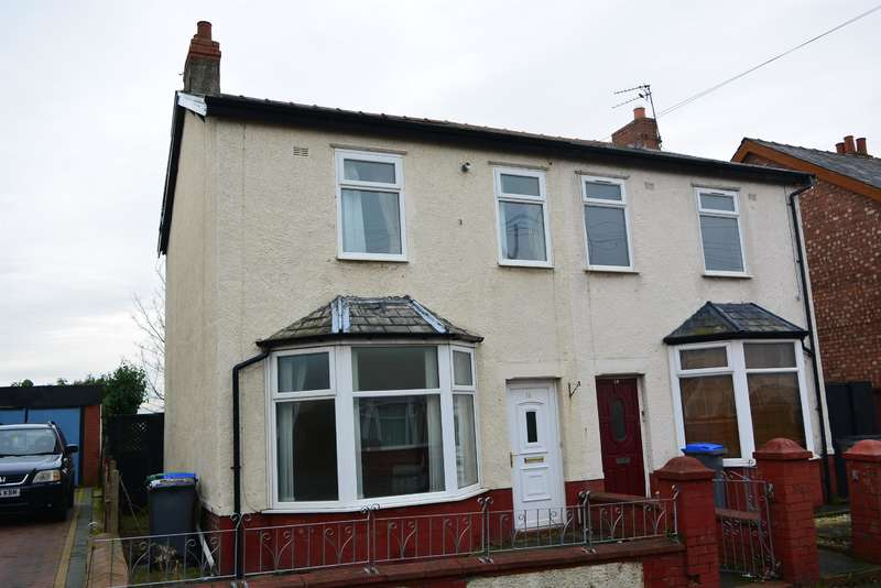 3 Bedrooms Semi Detached House for sale in Colwyn Avenue, Blackpool, FY4 4ET