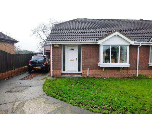 2 Bedrooms Semi Detached Bungalow for sale in SKI VIEW, SILKSWORTH, SUNDERLAND SOUTH