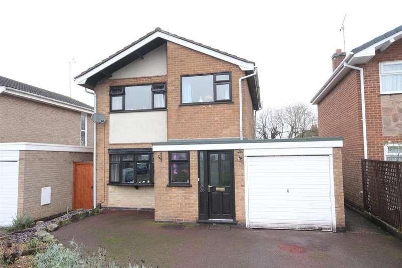 3 Bedrooms Detached House for sale in Dean Close, Littleover, Derby