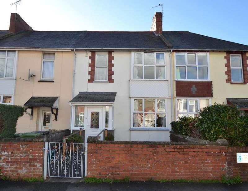 3 Bedrooms Terraced House for sale in Granville Avenue, Barnstaple