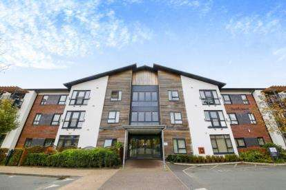 2 Bedrooms Flat for sale in Hazelmere, Hambleton Way, Winsford, Cheshire