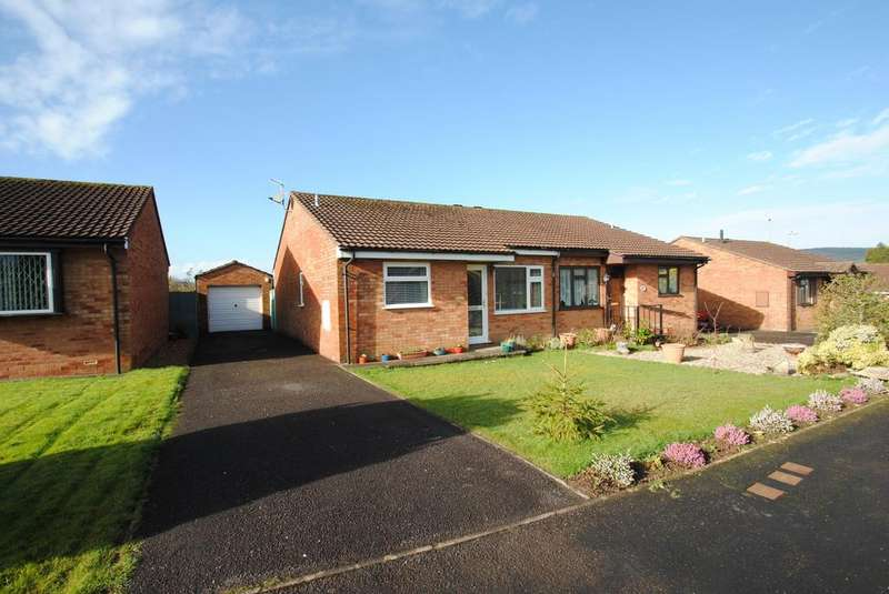 2 Bedrooms Bungalow for sale in Hollingarth Way, Hemyock