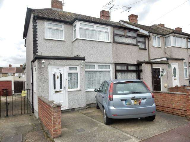 3 Bedrooms End Of Terrace House for sale in Third Avenue, Dagenham, Essex, RM10 9BB