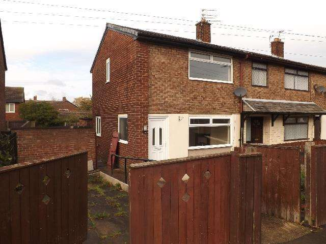 2 Bedrooms Semi Detached House for sale in Canberra Avenue, Thatto Heath