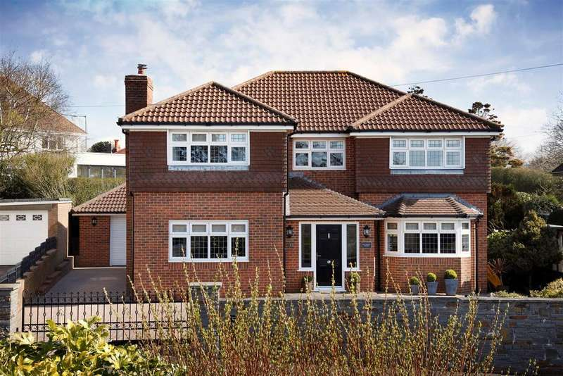4 Bedrooms Detached House for sale in Langland Court Road, Langland
