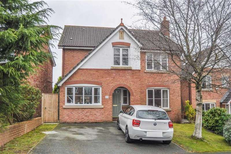 5 Bedrooms Detached House for sale in Maes Glas, Ewloe, Deeside, Deeside, Flintshire