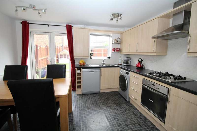 4 Bedrooms Town House for sale in Denbigh Avenue, Worksop