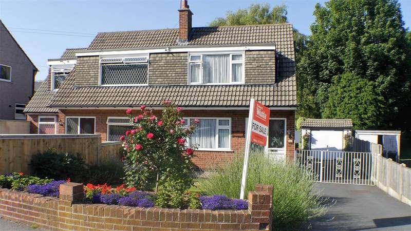 2 Bedrooms Semi Detached Bungalow for sale in Allerton Road, Allerton, Bradford, BD15 7BN
