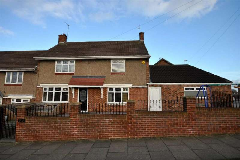 4 Bedrooms Semi Detached House for sale in Gleneagles Road, Grindon, Sunderland