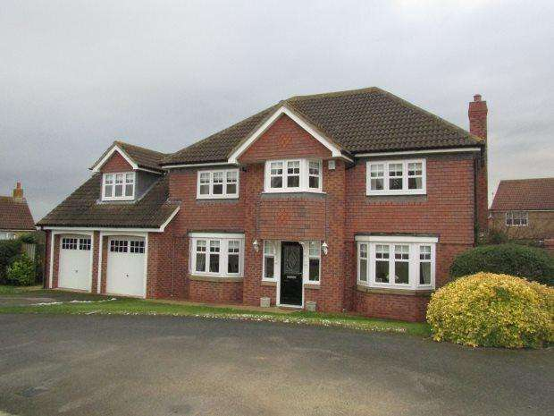 5 Bedrooms Detached House for sale in GRASSHOLME ROAD, ELWICK RISE, HARTLEPOOL