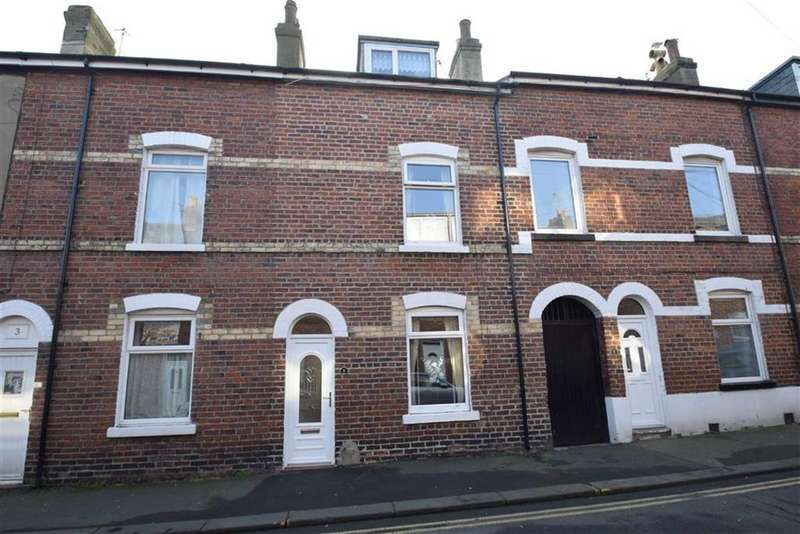 4 Bedrooms Terraced House for sale in Belle Vue Street, Scarborough, North Yorkshire, YO12