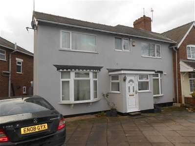 4 Bedrooms Semi Detached House for sale in Somerfield Road, Bloxwich