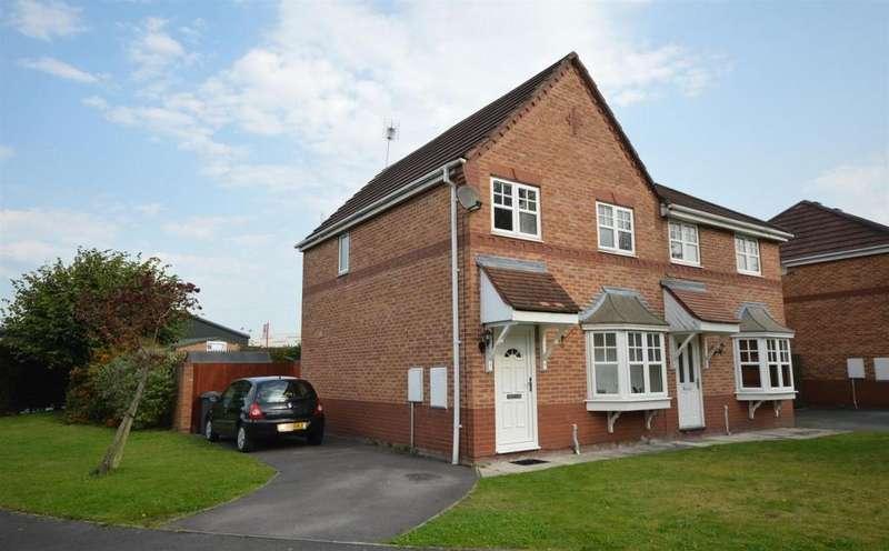 3 Bedrooms Semi Detached House for sale in Coleridge Close, Ettiley Heath