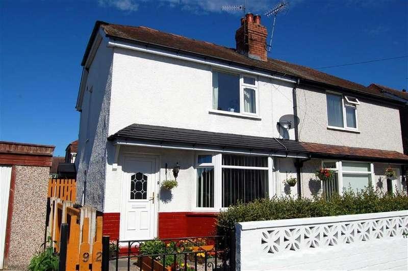 2 Bedrooms Semi Detached House for sale in Penrhos Avenue, Llandudno Junction, Conwy