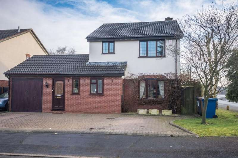 4 Bedrooms Detached House for sale in Haymoor, Lichfield, Staffordshire