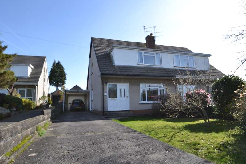 3 Bedrooms Semi Detached House for sale in Clos Mabon , Rhiwbina, Cardiff. CF14 6RN