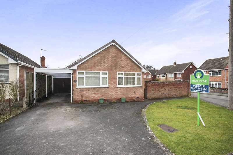 2 Bedrooms Detached Bungalow for sale in Pennine Way, Nuneaton, CV10