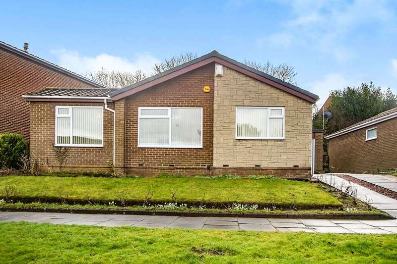 3 Bedrooms Detached Bungalow for sale in Thistledon Avenue, Whickham, Newcastle Upon Tyne, NE16