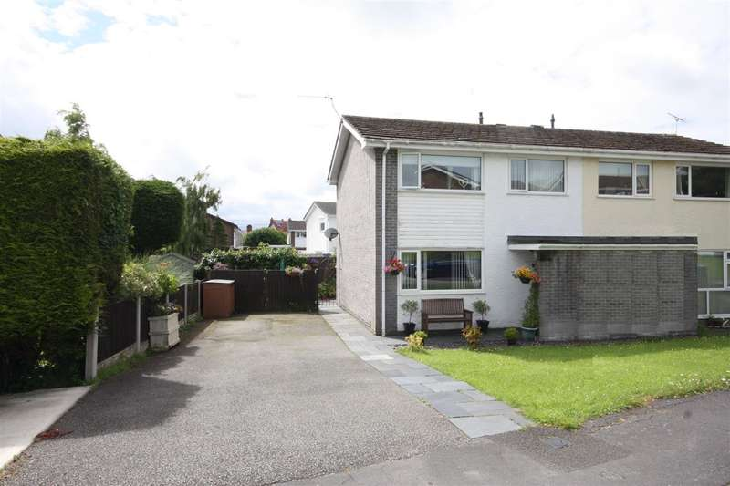 3 Bedrooms Semi Detached House for sale in Ffordd Rhiannon, Llanfairpwll