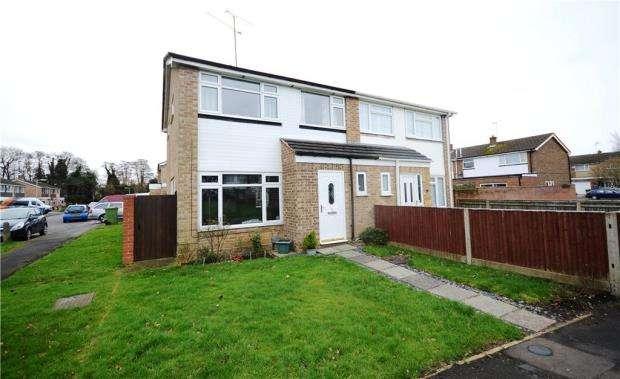 3 Bedrooms Semi Detached House for sale in Trent Close, Farnborough, Hampshire