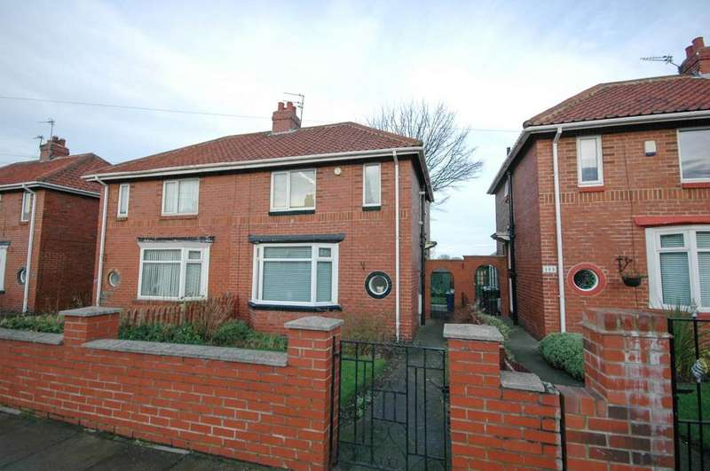 3 Bedrooms Semi Detached House for sale in Harton House Road, South Shields