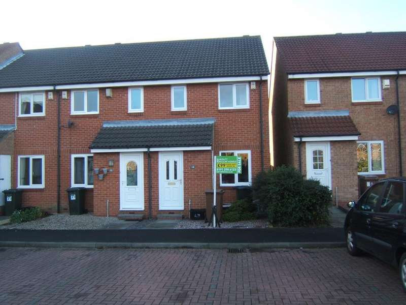2 Bedrooms Semi Detached House for sale in Rothbury Close, Newcastle Upon Tyne