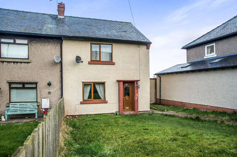 2 Bedrooms Semi Detached House for sale in Windsor Gardens, Alnwick, NE66