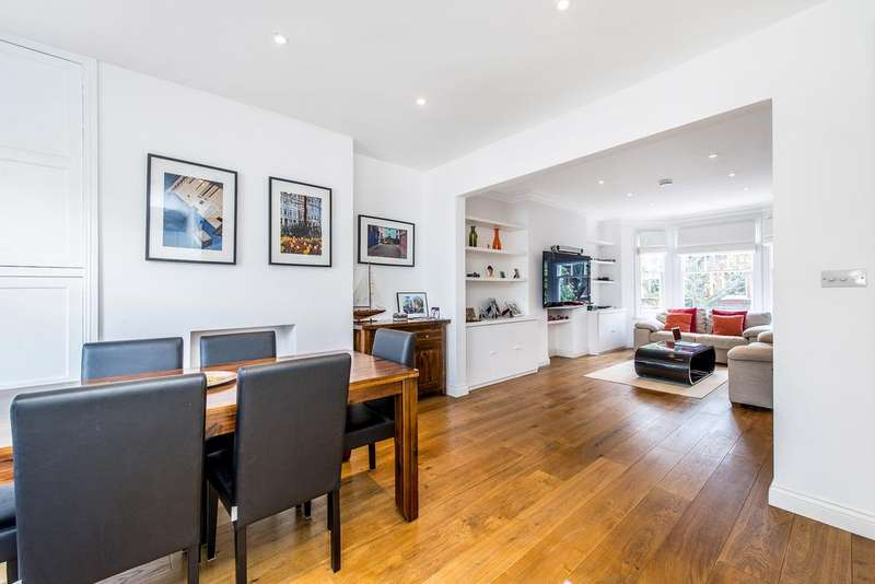 3 Bedrooms Flat for sale in Crookham Road, SW6