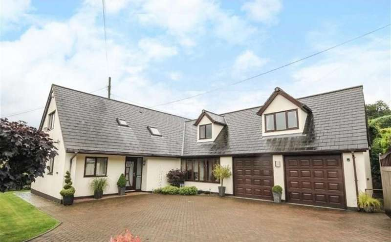 5 Bedrooms Detached House for sale in Christow, Exeter