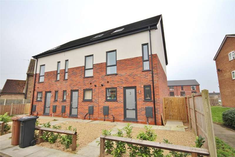3 Bedrooms End Of Terrace House for sale in The Park, St Botolphs Crescent, LN5