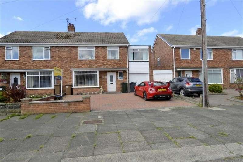 4 Bedrooms Semi Detached House for sale in Arundel Drive, West Monkseaton, Tyne Wear, NE25