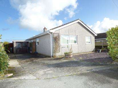 3 Bedrooms Bungalow for sale in Bryn Llwyd Estate, Llanfaethlu, Holyhead, Sir Ynys Mon, LL65