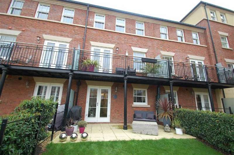 4 Bedrooms Town House for sale in Cadman Place, Riverside Meadow, Shrewsbury