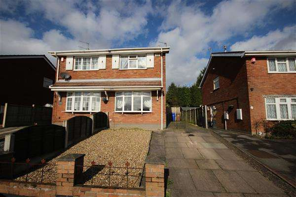 2 Bedrooms Semi Detached House for sale in Forrister Street, Meir Hay, Stoke-on-Trent
