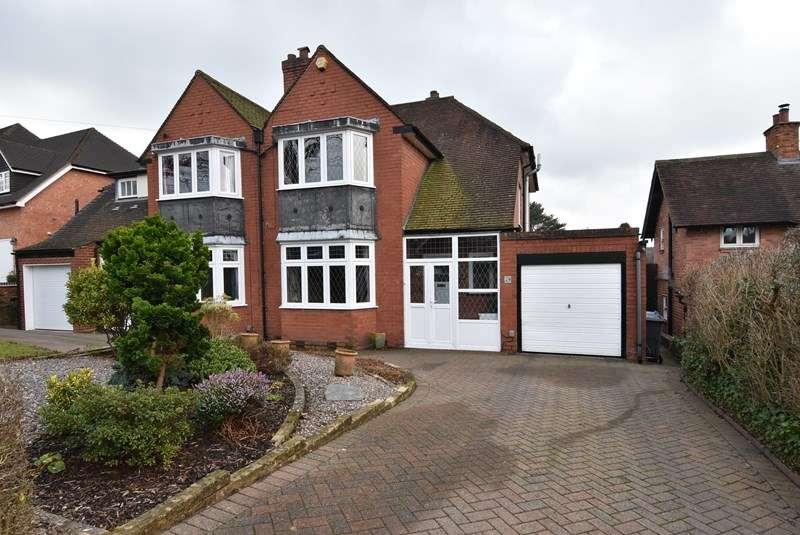 3 Bedrooms Semi Detached House for sale in Woodlands Park Road, Bournville, Birmingham