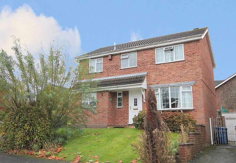 4 Bedrooms Detached House for sale in Melmerby, Wilnecote, Tamworth, B77 4LP