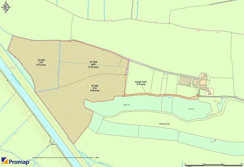 Land Commercial for sale in Wood Lane Farm, Stawell, Bridgwater, Somerset, TA7