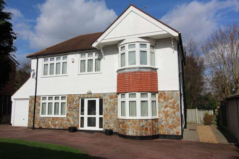4 Bedrooms Detached House for sale in Knoll Rise, Orpington, Kent, BR6 0DD