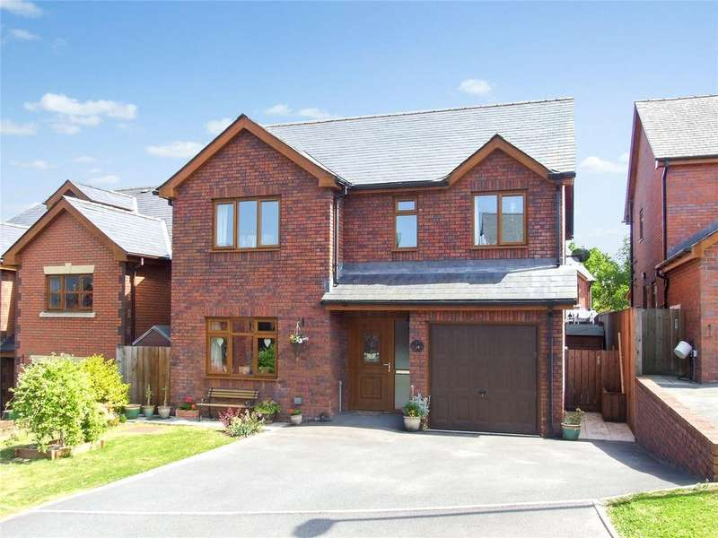 4 Bedrooms Detached House for sale in Troed-Yr-Bryn, Builth Wells, Powys