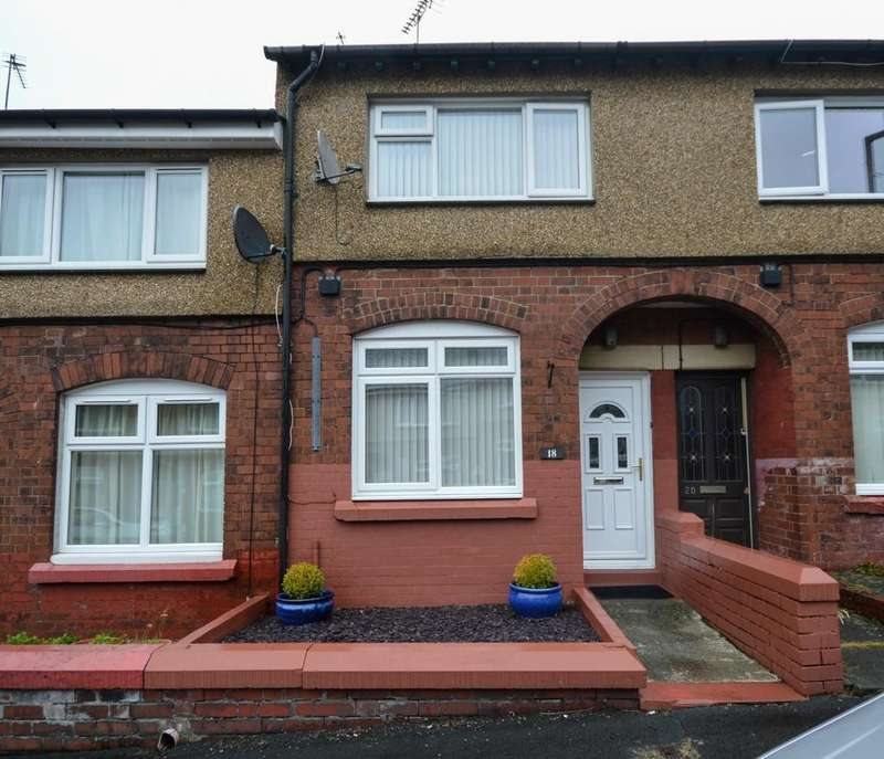 2 Bedrooms Terraced House for sale in Treflan, Bangor, North Wales