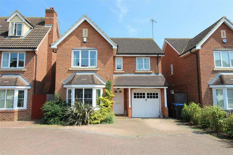 4 Bedrooms Detached House for sale in Bluebell Way, Hatfield Garden Village, Hatfield, Hertfordshire
