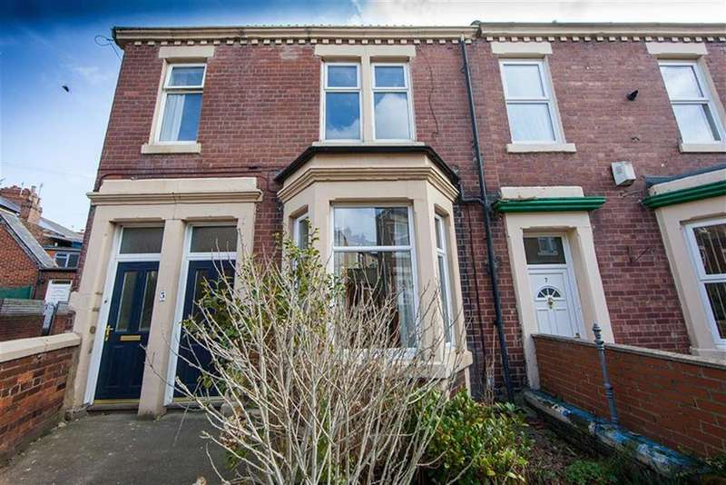 3 Bedrooms Apartment Flat for sale in Byron Avenue, Willington Quay, Wallsend, NE28