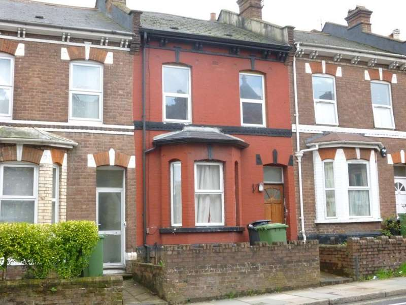 3 Bedrooms Terraced House for sale in Pinhoe Road, Exeter, Devon, EX4